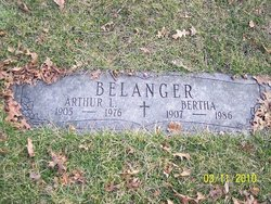 Bertha <i>Settele</i> Belanger