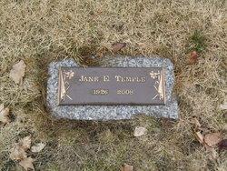 Mrs Etta Jane Jane <i>Stoddard</i> Temple