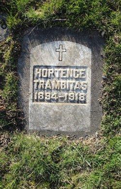 Hortence Augusta <i>Lander</i> Trambitas