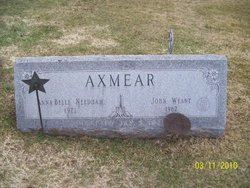Annabelle <i>Needham</i> Axmear