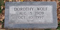 Dorothy <i>Wolf</i> Andrews