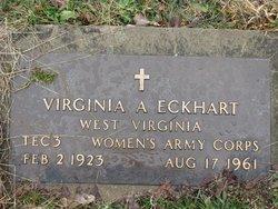 Virginia A Eckhart