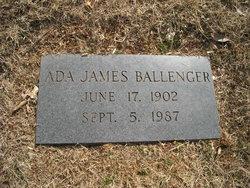 Ada Jo <i>James</i> Ballenger