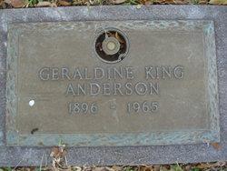 Geraldine <i>King</i> Anderson