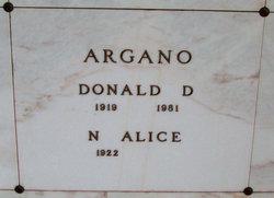 Donald D. Argano