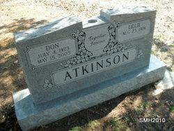 Donald R. Don Atkinson