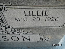 Lillie Ann <i>Croley</i> Atkinson
