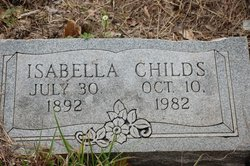 Isabell <i>Griffin</i> Childs