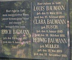Clara <i>Busch</i> Baumann