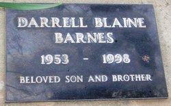 Darrell Blaine Barnes
