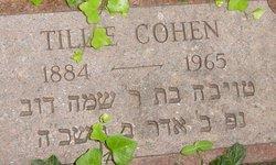 Tillie <i>Rodenberg</i> Cohen