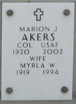 Myrla W Akers