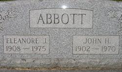 Dr John Harold Abbott