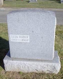 Elsa <i>Hahn</i> Haber