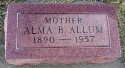 Alma Belle <i>Crisman</i> Allum