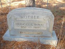 Frances Georgia <i>Perry</i> Royal