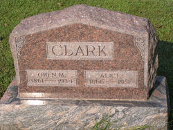 Mary Alice <i>Foltz</i> Clark
