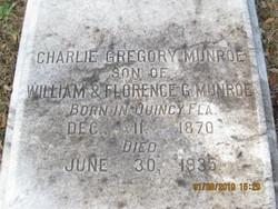 Charlie Gregory Munroe