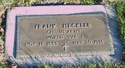 Frank Heckler