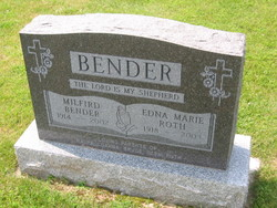 Edna Marie <i>Roth</i> Bender