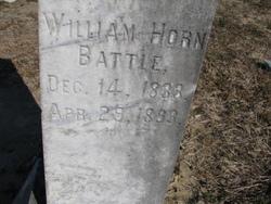 Dr William Horn Battle, II