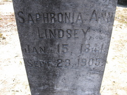 Saphronia Ann Sophie <i>Lindsey</i> Battle