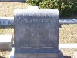Bertha Elizabeth Stelling