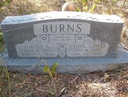 Ethel Lydia <i>Coats</i> Burns