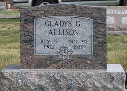 Gladys Gertrude <i>Garlick</i> Allison