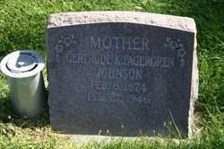 Gertrude Katherine <i>Fagergren</i> Johnson
