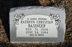 Kathryn <i>Christian</i> Basinger
