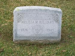Melissa Maldina <i>Moor</i> Hilliard