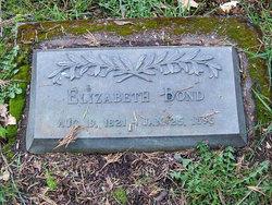 Elizabeth <i>Stillwell</i> Bond