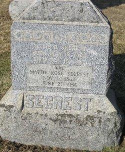 Mattie Rose Secrest