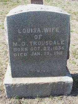 Louisa <i>Bush</i> Trousdale