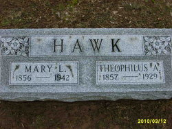 Mary Lettia <i>Adams</i> Hawk