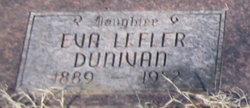Eva <i>Lefler</i> Dunivan