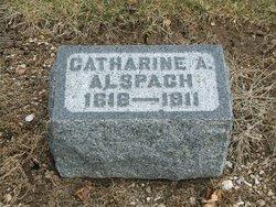 Catherine Ann <i>Vanlue</i> Alspach