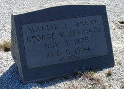 Mattie L. <i>Petrey</i> Jennings