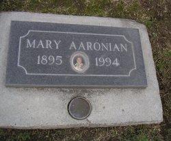 Mary M <i>Kinosian</i> Aaronian