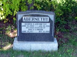 Mae E. <i>London</i> Abernethy