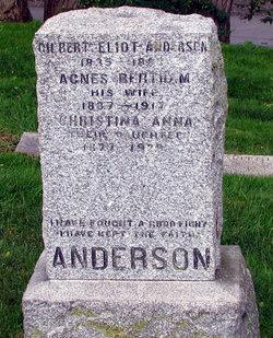 Agnes <i>Bertram</i> Anderson