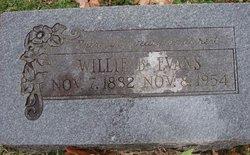 William Bart Willie Evans