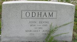 Margaret <i>Jones</i> Odham