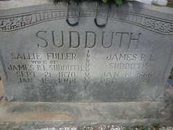 Sarah Sallie <i>Fuller</i> Sudduth