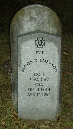 Pvt Jacob D. Emerson