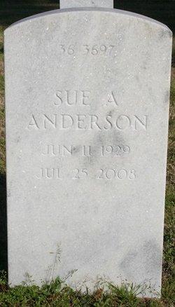 Sue Ann <i>Bicknell</i> Anderson