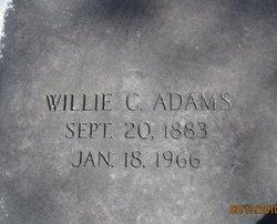 Willie C Adams