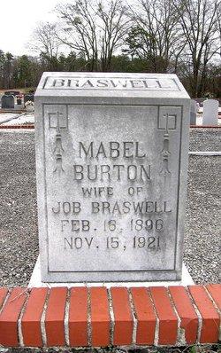 Mabel <i>Burton</i> Braswell