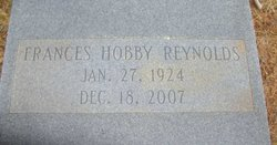 Mary Frances <i>Hobby</i> Reynolds